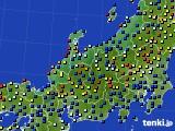 北陸地方のアメダス実況(日照時間)(2020年06月28日)
