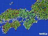 近畿地方のアメダス実況(日照時間)(2020年06月28日)