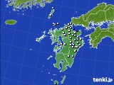 九州地方のアメダス実況(降水量)(2020年06月29日)