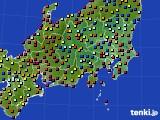 関東・甲信地方のアメダス実況(日照時間)(2020年06月29日)