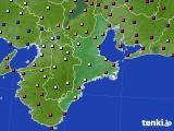 三重県のアメダス実況(日照時間)(2020年06月29日)