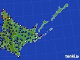 道東のアメダス実況(日照時間)(2020年06月29日)