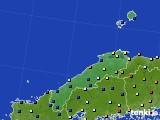 島根県のアメダス実況(日照時間)(2020年06月29日)