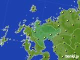 2020年06月29日の佐賀県のアメダス(気温)