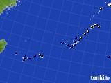 沖縄地方のアメダス実況(風向・風速)(2020年06月29日)