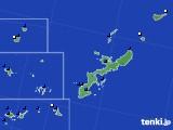 沖縄県のアメダス実況(風向・風速)(2020年06月29日)