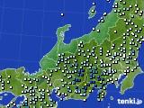 北陸地方のアメダス実況(降水量)(2020年06月30日)