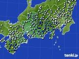 2020年06月30日の東海地方のアメダス(降水量)