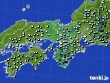 近畿地方のアメダス実況(降水量)(2020年06月30日)
