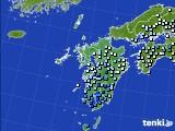 2020年06月30日の九州地方のアメダス(降水量)