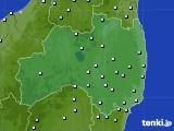 福島県のアメダス実況(降水量)(2020年06月30日)