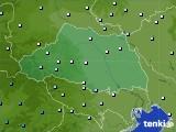 埼玉県のアメダス実況(降水量)(2020年06月30日)