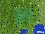 2020年06月30日の山梨県のアメダス(降水量)