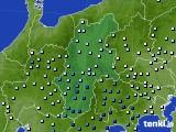 2020年06月30日の長野県のアメダス(降水量)