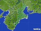 2020年06月30日の三重県のアメダス(降水量)