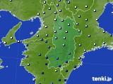 奈良県のアメダス実況(降水量)(2020年06月30日)