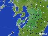 2020年06月30日の熊本県のアメダス(降水量)