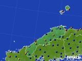 2020年06月30日の島根県のアメダス(日照時間)