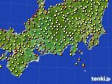 2020年06月30日の東海地方のアメダス(気温)