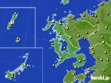2020年06月30日の長崎県のアメダス(気温)