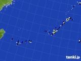 沖縄地方のアメダス実況(風向・風速)(2020年06月30日)