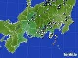 2020年07月01日の東海地方のアメダス(降水量)