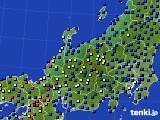北陸地方のアメダス実況(日照時間)(2020年07月01日)
