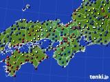 近畿地方のアメダス実況(日照時間)(2020年07月01日)