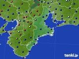 2020年07月01日の三重県のアメダス(日照時間)