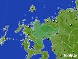 2020年07月01日の佐賀県のアメダス(気温)