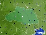 埼玉県のアメダス実況(風向・風速)(2020年07月01日)