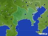 神奈川県のアメダス実況(風向・風速)(2020年07月01日)