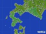 2020年07月01日の道南のアメダス(風向・風速)