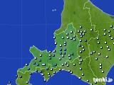 2020年07月02日の道央のアメダス(降水量)