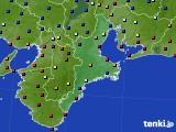 2020年07月02日の三重県のアメダス(日照時間)