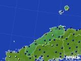 2020年07月02日の島根県のアメダス(日照時間)