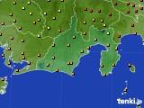 2020年07月02日の静岡県のアメダス(気温)