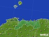 2020年07月02日の鳥取県のアメダス(気温)
