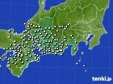 2020年07月03日の東海地方のアメダス(降水量)
