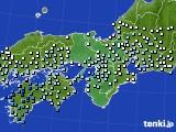 近畿地方のアメダス実況(降水量)(2020年07月03日)