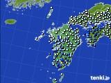 2020年07月03日の九州地方のアメダス(降水量)