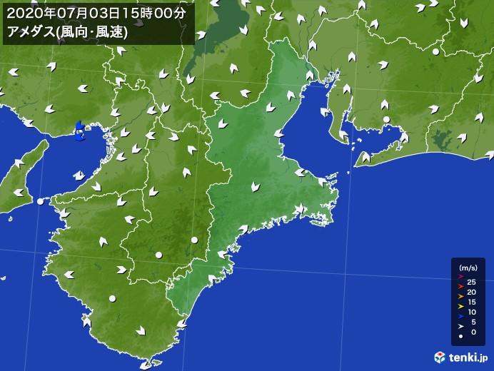 梅雨入り 三重 県