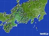 2020年07月04日の東海地方のアメダス(降水量)