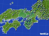 2020年07月04日の近畿地方のアメダス(降水量)