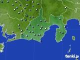 静岡県のアメダス実況(降水量)(2020年07月04日)