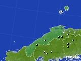 2020年07月04日の島根県のアメダス(降水量)