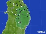 2020年07月04日の岩手県のアメダス(降水量)