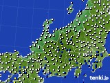 2020年07月04日の北陸地方のアメダス(風向・風速)