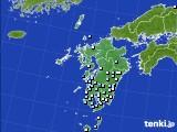 九州地方のアメダス実況(降水量)(2020年07月05日)