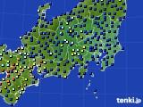 関東・甲信地方のアメダス実況(日照時間)(2020年07月05日)